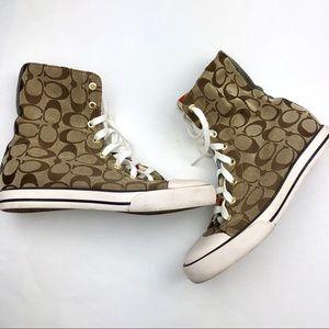 COACH Bonney High Top Sneakers